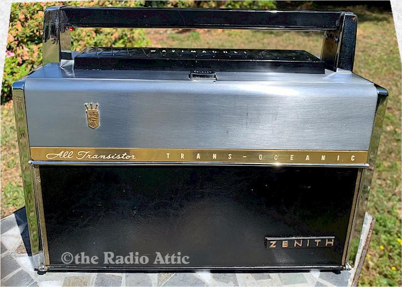 Zenith Royal 1000-D Trans-Oceanic (1958)