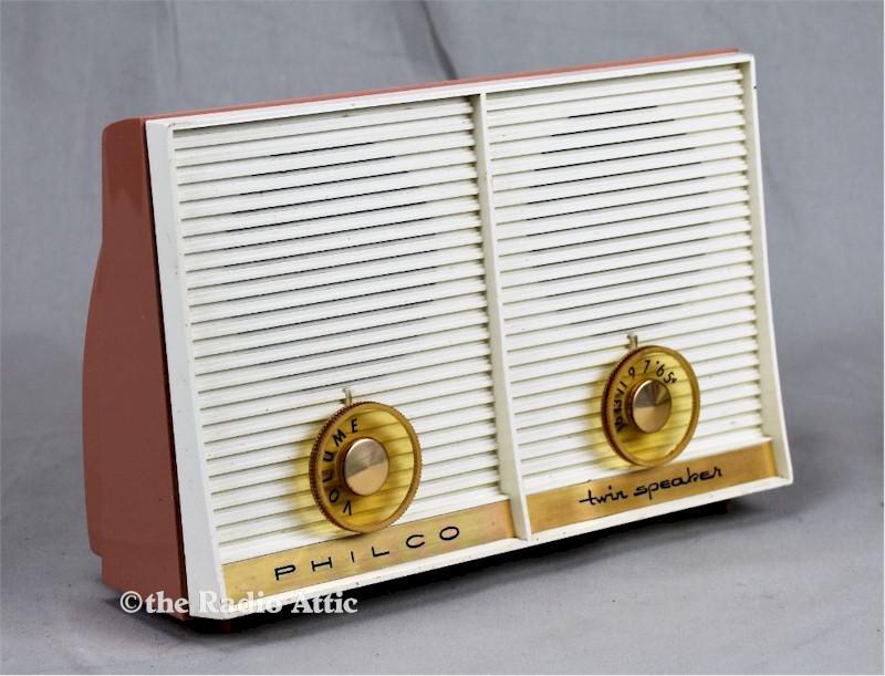 """Philco G Series """"Twin Speaker"""" (1961)"""