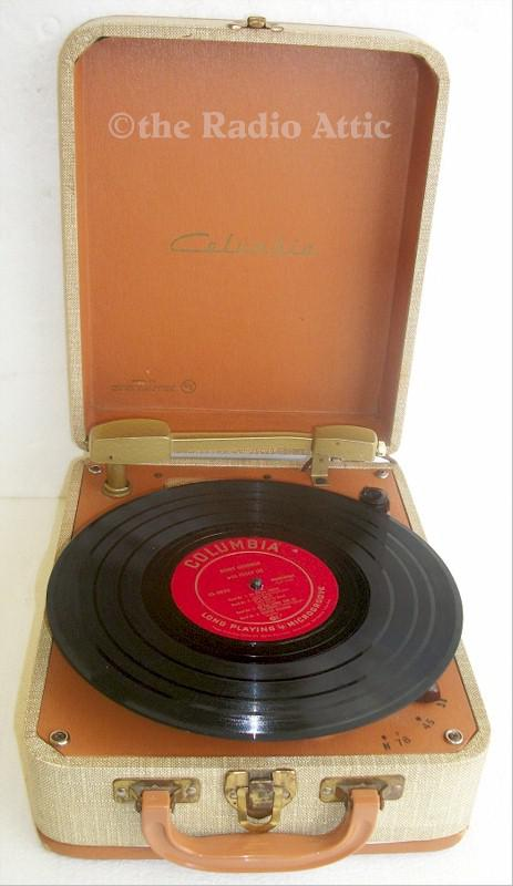 Columbia 312 portable Record Player (1959)