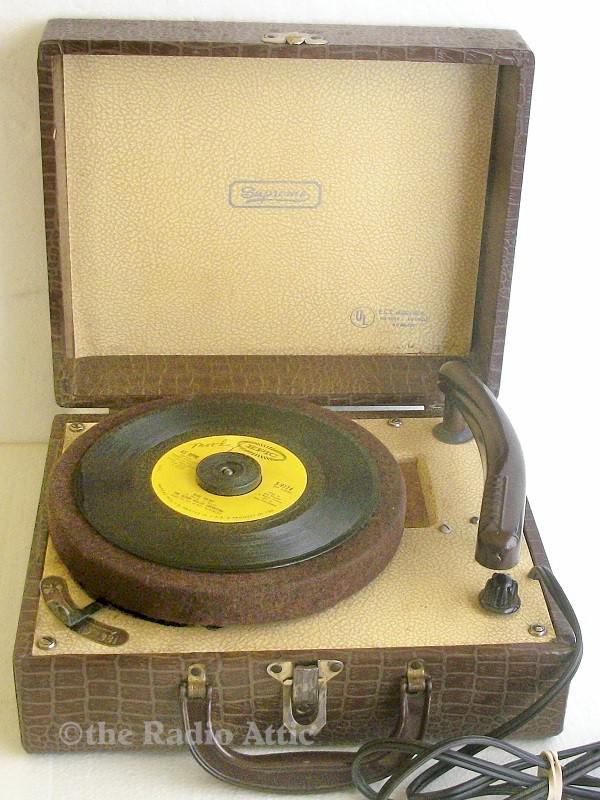 Supreme WO-2 Portable Record Player (1950s)