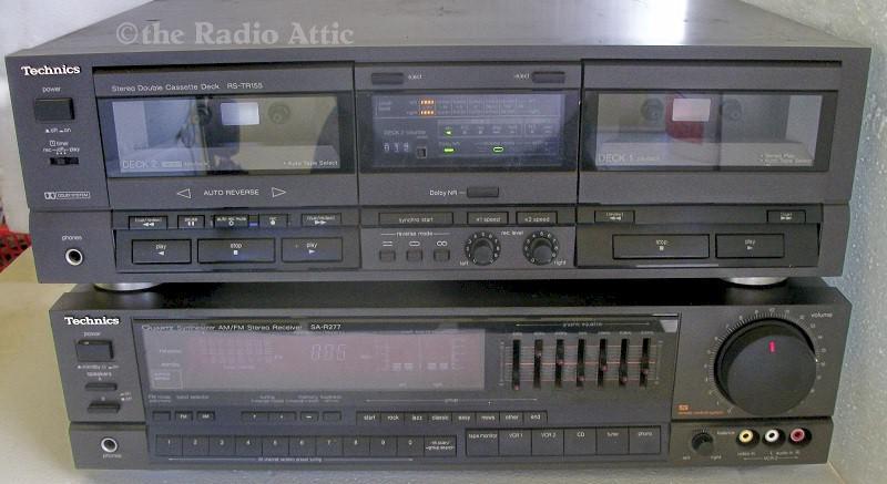 Technics Package, RS-TR155 & SA-R277 (1980s)