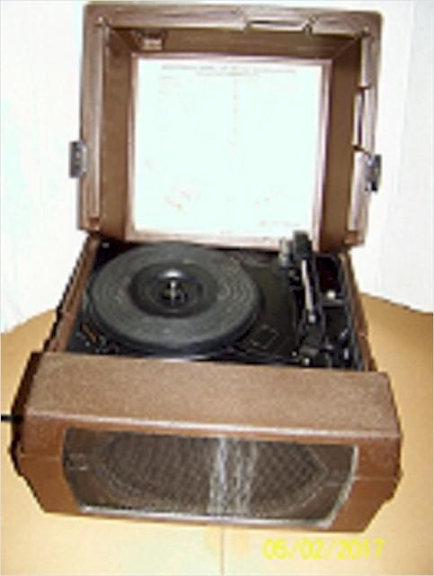Audiotronics 326 Classroom Record Player