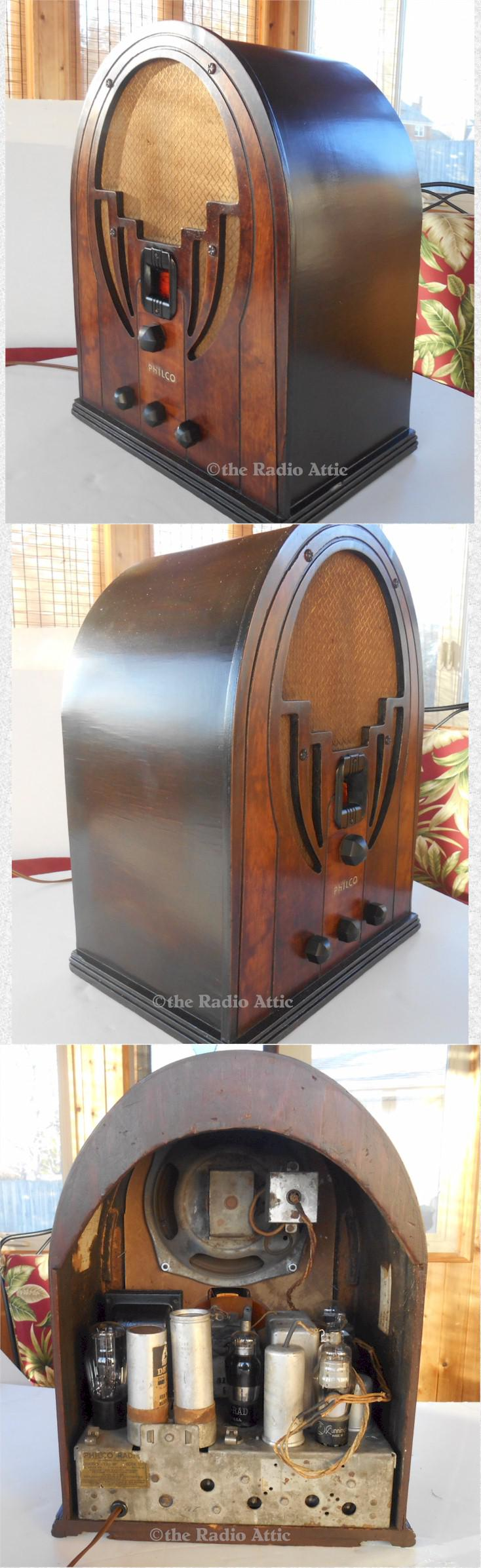 "Philco 60 ""Baby Grand"" Cathedral (1936)"