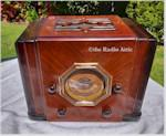 """Silvertone/Mission Bell 41 """"Cube"""" (1935)"""