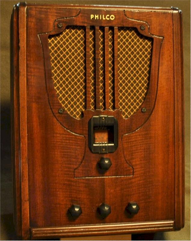 Philco 66S Tombstone (1935)