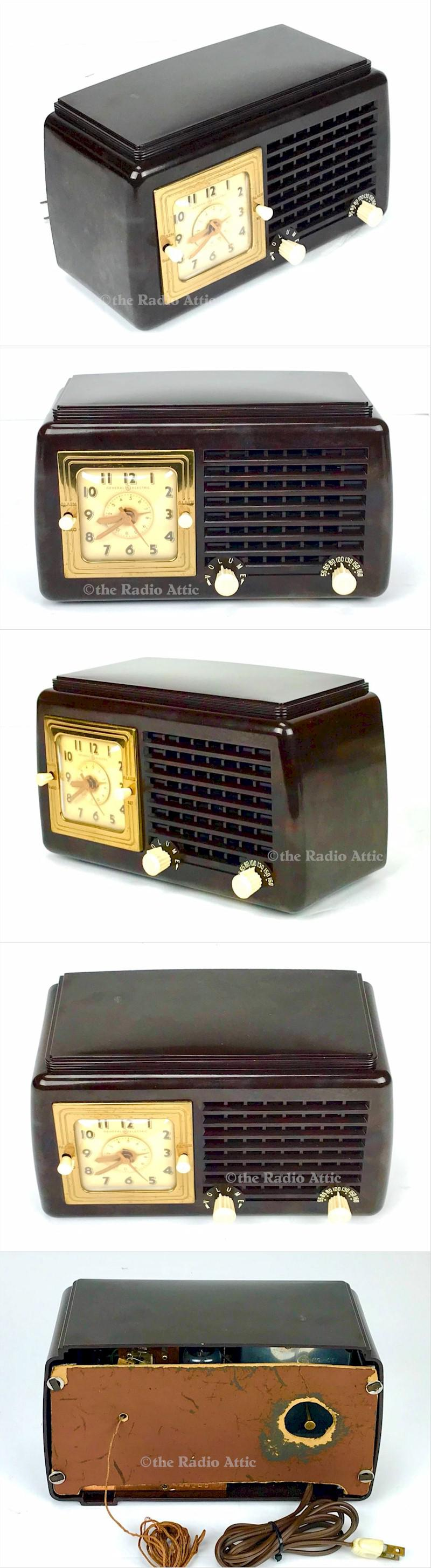 General Electric 50 Clock Radio (1947)
