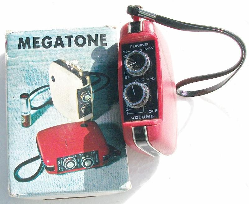 Megatone R-43 Pocket Radio (1960s)