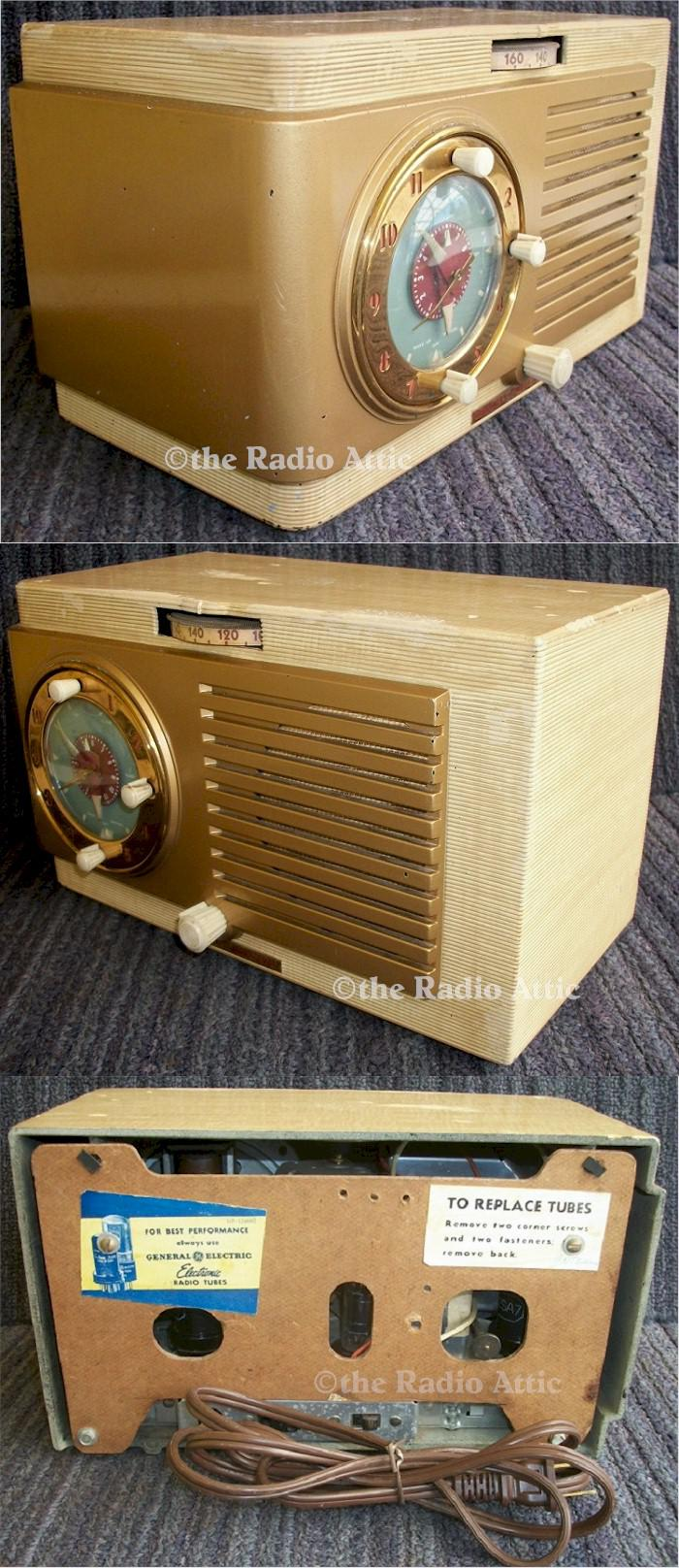 General Electric 508 Clock Radio (1950)