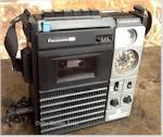 Panasonic RQ5185 AM/FM Cassette Player/Recorder