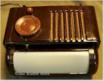 """Mitchell 1250 """"Lullaby"""" Bed Lamp-Radio (1949)"""