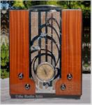"""Zenith S-829 """"Chrome Front"""" Tombstone (1935)"""